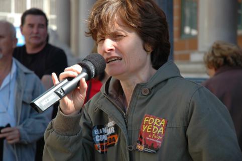 Direitos do trabalhador estão ameaçados, garante Vera Guasso