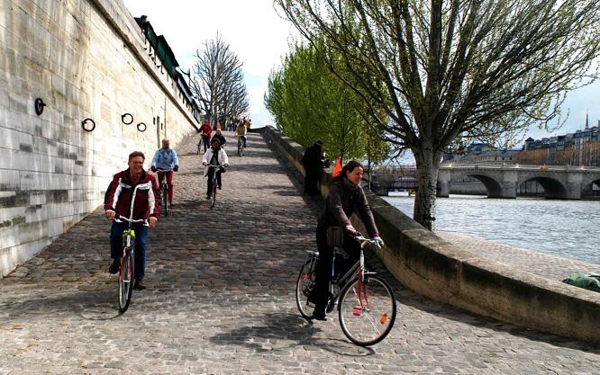 Na França, quem for de bicicleta para o trabalho ganhará remuneração