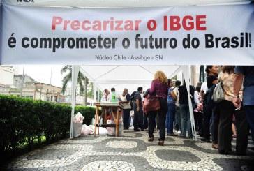 Trabalhadores em greve do IBGE denunciam excesso de terceirização
