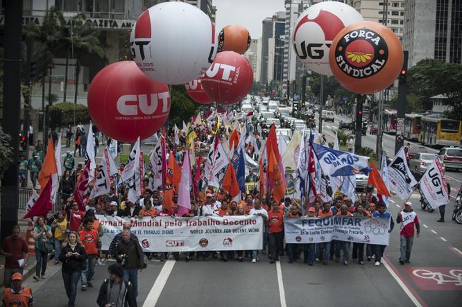 CUT e Força perdem espaço no movimento sindical