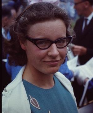 Jocelyn Bell Burnell em 1967