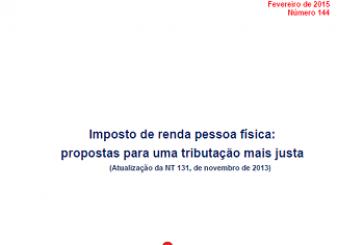 Nota Técnica, n. 144, fev. 2015