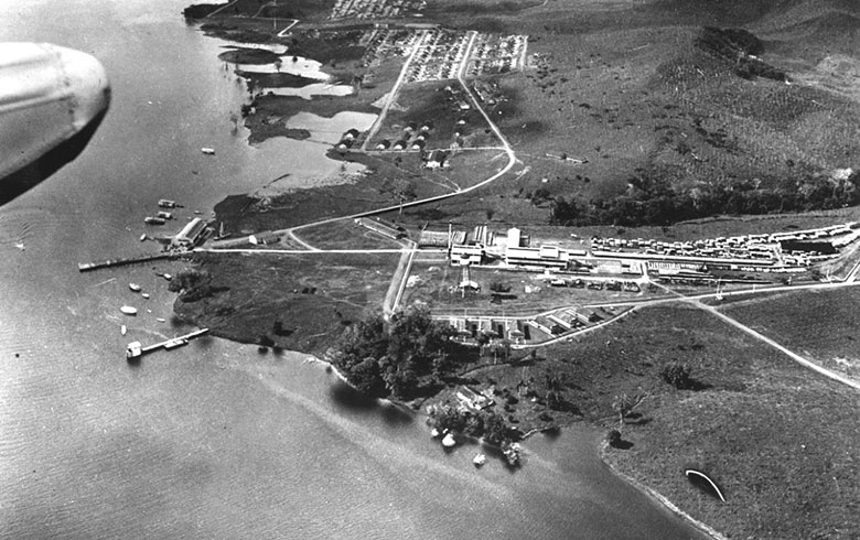 Fordlândia em 1933. Fotografia: Benson Ford Research Center