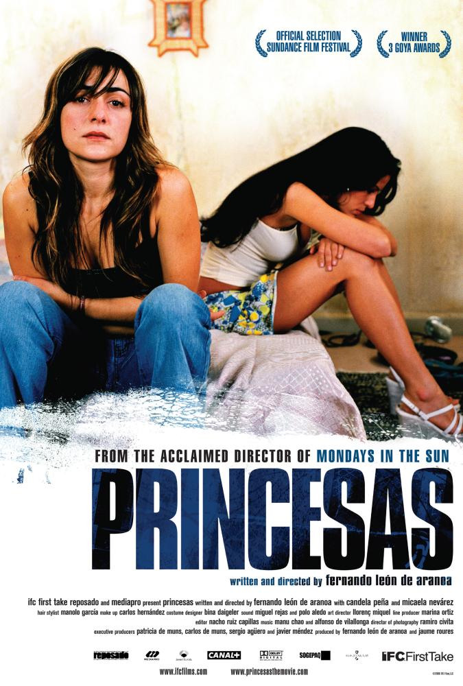 """Pôster do filme """"Princesas"""". Divulgação"""