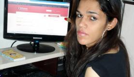 Daniela Andrade, de 35 anos, conta que conheceu bem as dificuldades de conseguir trabalho. Fotografia: Arquivo pessoal