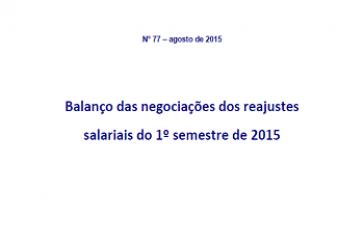 Estudos e Pesquisas, n. 77, ago. 2015