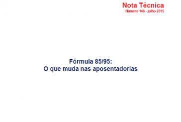 Nota Técnica, n. 146, jul. 2015