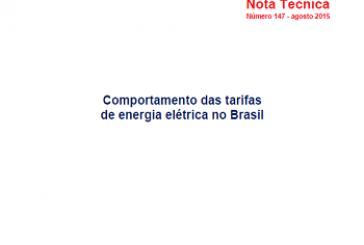 Nota Técnica, n. 147, ago. 2015