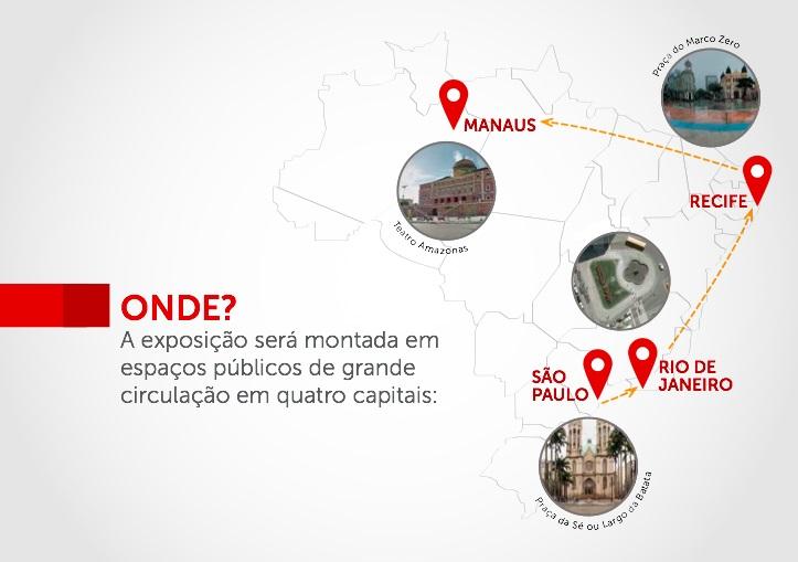 Exposição itinerante deverá passar por quatro cidades - Arquivo/ Divulgação