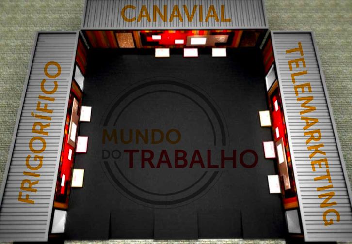 Os três containers serão customizados para receber as instalações artísticas - Divulgação.