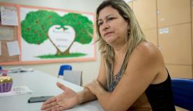 Avelina Pereira Neves é professora há 30 anos. Fotografia: Marcelo Camargo/Agência Brasil.