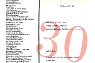 Carta Social e do Trabalho, n. 30, abr./jun. 2015