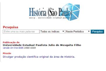 História (São Paulo), v. 34, n. 2, jul./dez. 2015