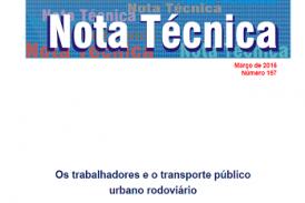 Nota Técnica, n. 157, mar. 2016