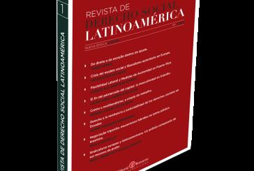 Revista de Derecho Social – Latinoamérica volta a circular em versão digital