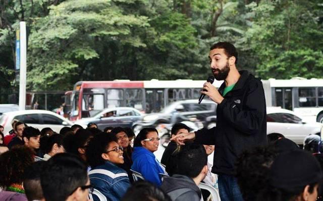 O professor de geografia Mauricio Costa de Carvalho. Foto: Arquivo Pessoal.