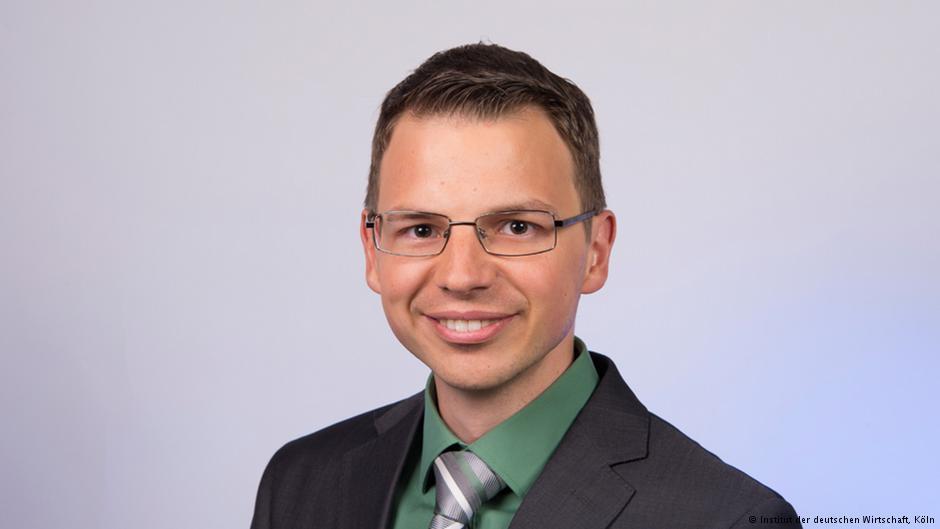 Economista Wido Geis. Fotografia: Instituto da Economia Alemã
