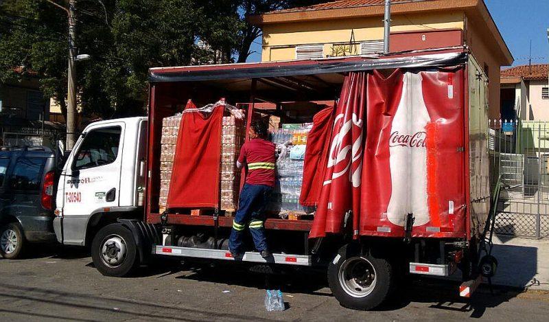 Entregadores faziam jornadas que chegavam a 140 horas extras por mês Foto: Carlos Juliano Barros/ Repórter Brasil.