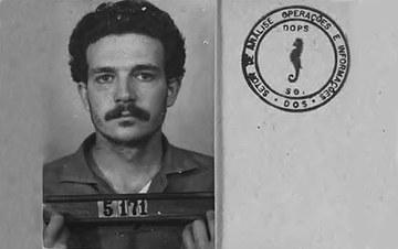 Lúcio Bellentani foi preso em 1972 enquanto trabalhava. Começou a apanhar na sala de segurança da Volks. Fotografia: Arquivo Público Estado de SP