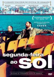 """Capa brasileira da mídia física do filme """"Segunda Feira ao Sol"""". Fotografia: Divulgação/Casa Blanca Filmes"""