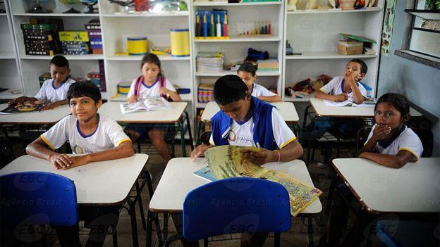 Educação também está na mira dos cortes. Fotografia: Tomaz Silva/Agência Brasil