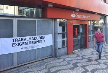 Bancários apoiam trabalhadores do Santander nos EUA por direito a organização