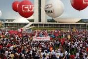 Trabalhadores ocupam Brasília para barrar as reformas