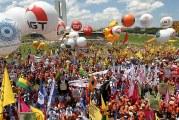 Marcha contra reformas e defesa dos direitos terá 100 mil em Brasília