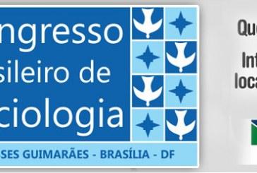 26/07/2017 a 29/07/2017 – 18º Congresso de Sociologia