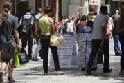 Taxa de desemprego total permanece estável