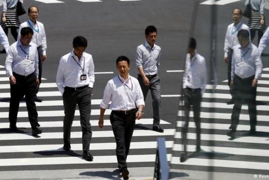 """Tóquio tenta pôr cidade inteira de """"home office"""""""