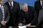 Temer sanciona reforma trabalhista e nova lei entra em vigor em 120 dias