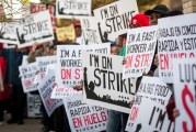 Trabalhadores da McDonald's internacionalizam greve