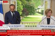 Governo francês revela reforma trabalhista; sindicatos já se mobilizam