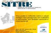 28/05/2018 a 30/05/2018 – VII Simpósio Internacional Trabalho, Relações de Trabalho, Educação e Identidade – SITRE