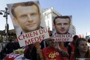 França: milhares de pessoas protestam em Paris contra reforma trabalhista de Macron