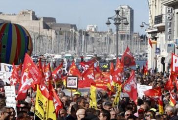Ampla mobilização contra a reforma trabalhista na França