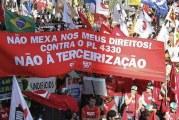 Centrais sindicais marcam protesto para esta sexta-feira