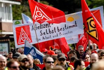 Sindicato alemão consegue redução de jornada de trabalho para 28 horas semanais e aumento salarial de 4,3%