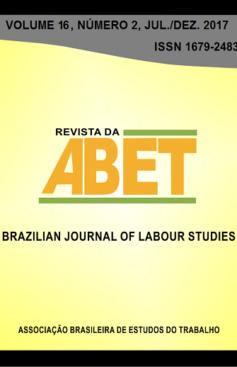 Revista da ABET, v. 16, n. 2