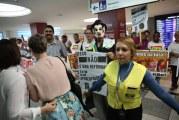 Trabalhadores protestam contra reforma da Previdência
