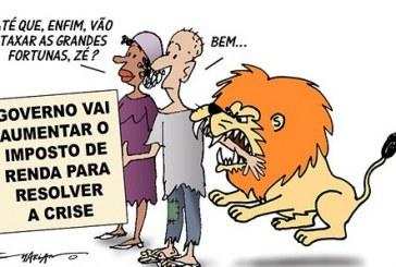 Mordida do leão poupa lucros de super-ricos e mira nos salários