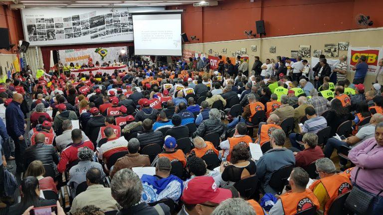 """Centrais lançam """"Nova Agenda da Classe Trabalhadora"""""""