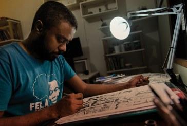 Com HQ sobre escravidão, brasileiro ganha o maior prêmio de quadrinhos do mundo