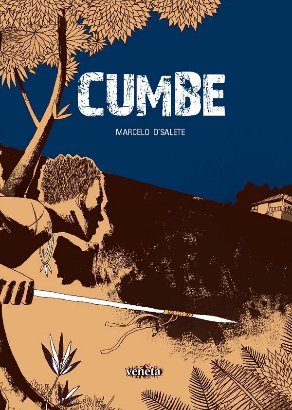 Capa de Cumbe, de Marcelo D'Salete, Editora Veneta