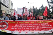 Trabalhadores repudiam os programas entreguistas de Lenín Moreno no Equador