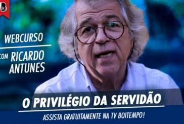 Boitempo libera curso completo ministrado por Ricardo Antunes