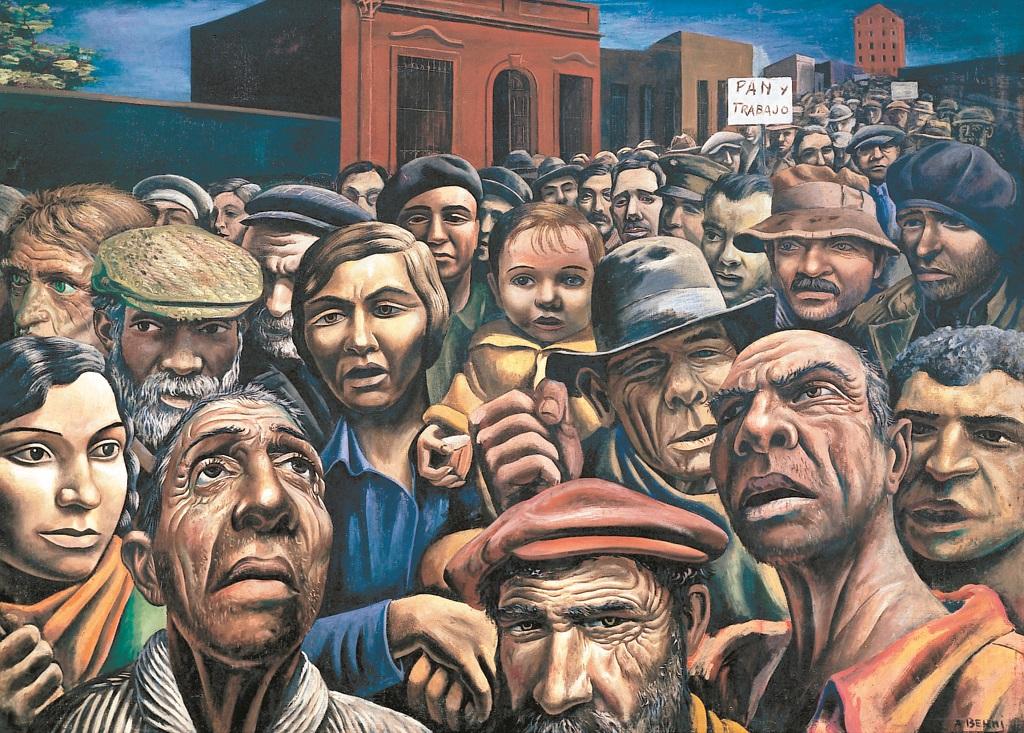 trabajadores antonio berni