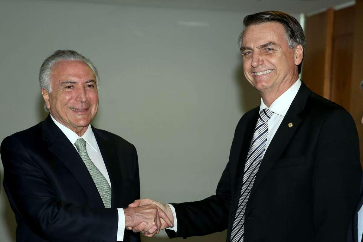 A exemplo de Temer, Bolsonaro propõe ajuste aos trabalhadores e perdão a empresários