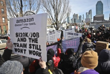 A crescente rebelião popular contra o neoliberalismo: Amazon em Nova York